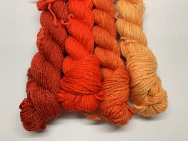 Rot/Orange - Töne 20 g High Twist